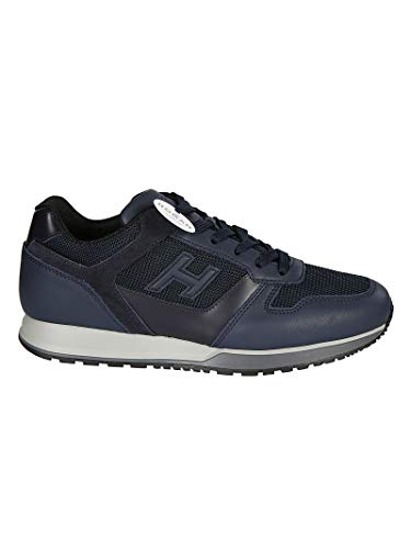 Hogan Luxury Fashion Uomo HXM3210Y850JBY9AZC Blu Sneakers | Stagione Permanente