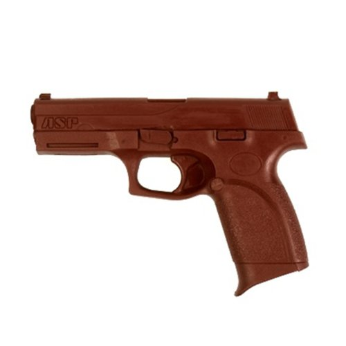 ASP FN Forty-Nine 9mm/.40 Red Gun Replica for Training and Practice with Martial Arts, Defense, Props, Tactical, Law Enforcement, Military 07331