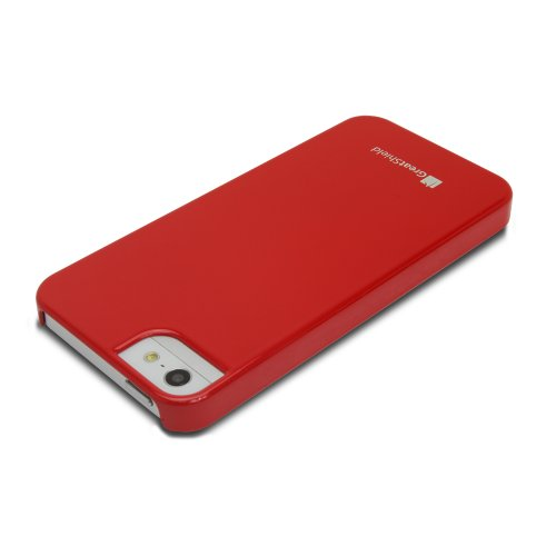 GreatShield Guardian UV Coating Case for iPhone 5/5s/SE - Brown rouge