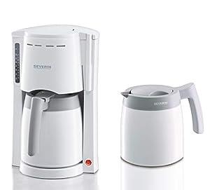SEVERIN Kaffeemaschine, Für gemahlenen Filterkaffee, 8 Tassen, Inkl. 2...