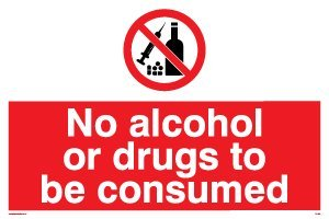 viking-signs-pv1486-a4l-v-no-alcohol-or-drugs-to-be-consumed-sign-vinyl-200-mm-h-x-300-mm-w