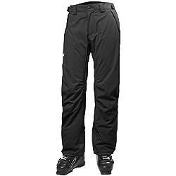 Helly Hansen Velocity Insulated Pant Pantalón, Hombre, Negro, S