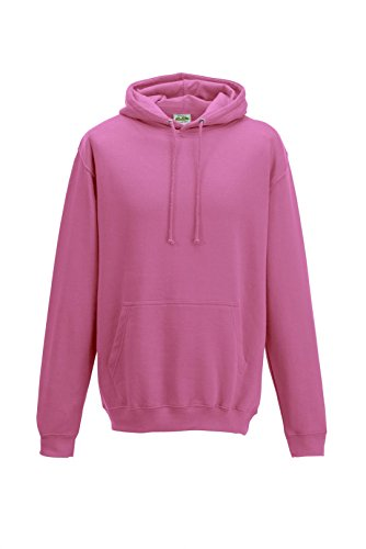 Awdis CollegeHoodie Candyfloss Pink