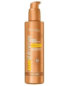 Preisvergleich Produktbild Rimmel London Maxi 24 Hour Instant Wash Off Tan - Light Matte 225ml