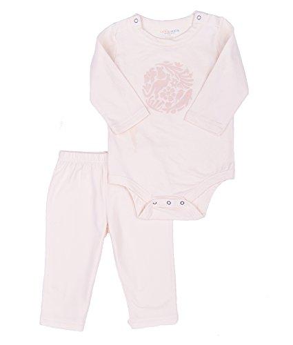 Oceankids Baby Mädchen 'Elfenbein Jumpsuit Neugeboren Infant Spielanzug Langarm 9M 6-9 Monate (Kleinkinder T-shirt Force Air)