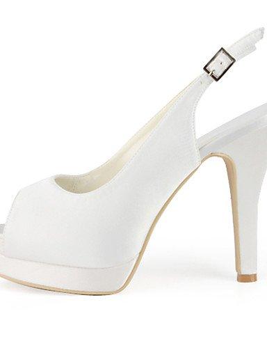 WSS 2016 Chaussures de mariage-Noir / Bleu / Jaune / Rose / Violet / Rouge / Blanc / Argent / Or / Beige / Amande-Mariage / Habillé / Soirée & 4in-4 3/4in-beige
