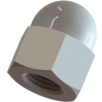 Kunststoff Hutmutter M5 DIN EN 34814 1587 10 Stück