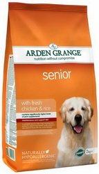 2x 12kg Arden Grange Senior Huhn & Reis Trockenfutter für Hunde AVSL Bügelkopfhörer