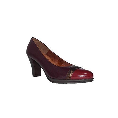 Chamby STEEFY Tacón Charol Ch.4313 Zapatos Mujer Tacón Medio Piel Fino  Fiesta. 684fb72fb0ed