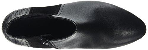 Gabor Comfort Basic, Bottes Classiques Femme Noir (Schwarz (micro) 37)