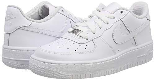best sneakers 602c1 0a961 Nike Air Force 1 (GS), Scarpe da Basket per Bambini,, Bianco  (Blanco Blanco), 38 EU. Visualizza le immagini