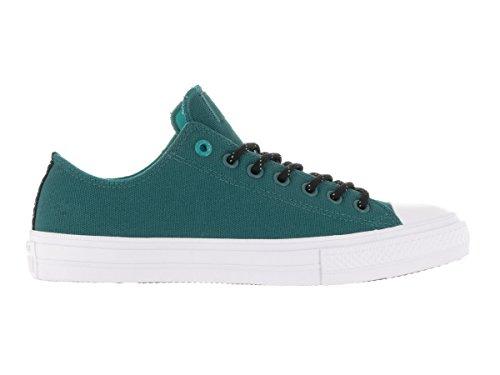 Converse Chuck Taylor All Star Ii Low Femme Baskets Mode Bleu Cool Jade/Wh