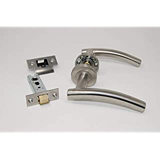 Arched Door Handle Pack (Internal Latch Set) FOR 45MM FIRE DOOR