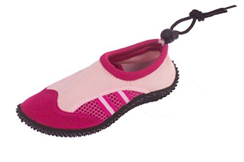 Kinder (Jungen / Mädchen) Schwimm- Bade- Aquaschuhe Rosa-Pink
