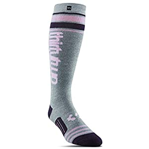 ThirtyTwo W Stripe Graphic Sock Charcoal/Heather S/M