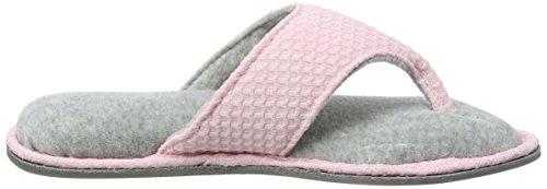 Dearfoams Damen Thong Pantoffeln Pink (Fresh Pink) 4wirP
