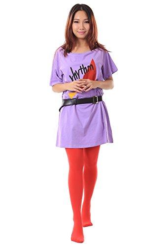 De-Cos K-On! Cosplay Costume - Akiyama Mio Outfit 2nd Version Set (K On Mio Cosplay Kostüm)