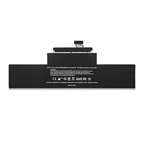 STAIGO Wiedereinbau A1417 Batterie für Apple MacBook Pro Retina 15