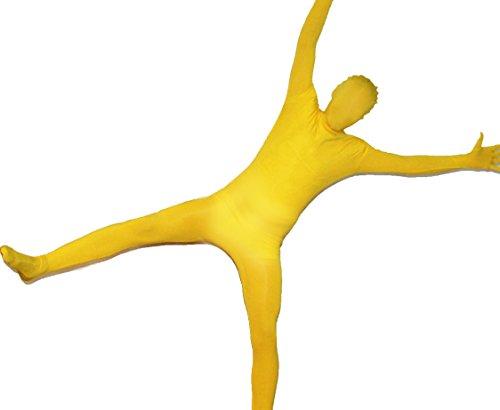 ostüm in Gelb Größe: S (Kinder Morphsuit Gelb)
