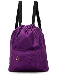 SWD Prime Travel Waterproof Storage Bag Wet Dry Seperated Drawstring Bag Lightweight Backpack - B07DWZQ4RQ