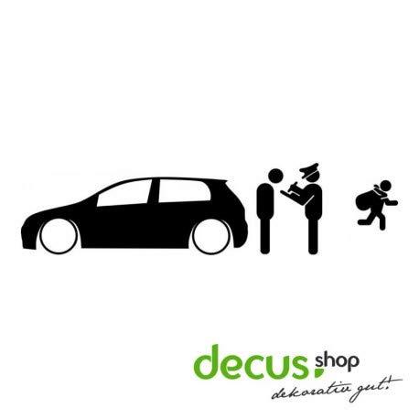 Decus Low is NOT A Crime Golf 5 L 2134 // Sticker OEM JDM Style Aufkleber (weiß matt)