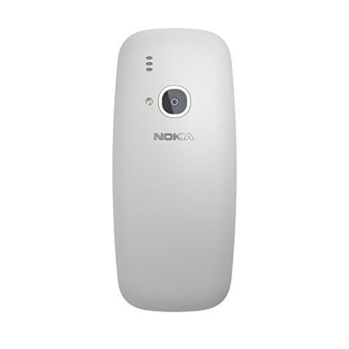 Nokia 3310 2 4  79 6g Gris Caracter  stica del tel  fono - Tel  fono m  vil  Barra  SIM doble  6 1 cm  2 4    2 MP  1200 mAh  Gris