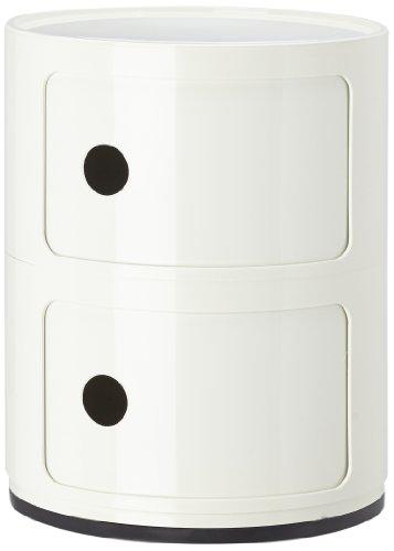 Kartell 496603 contenitore componibile colore: bianco
