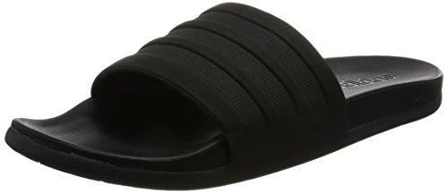 Adidas Damen Adilette Cf Mono W Flip-Flops, Schwarz (Negbas/Negbas/Negbas), 38 EU