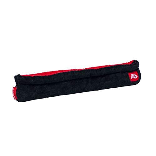 Guardog 2-Tone Terries Kufenschoner für Eiskunstlauf, Eislaufschue, Schlittschuhe, schwarz/rot