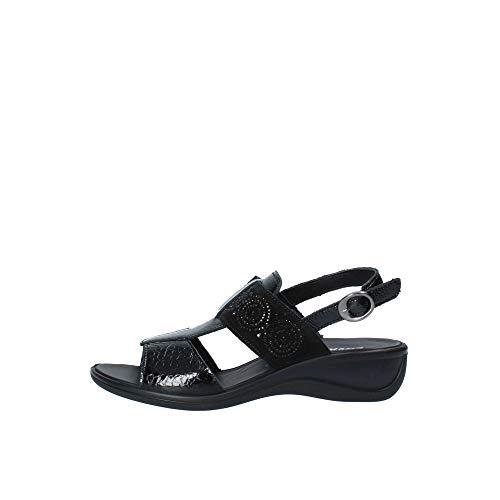 ENVAL SOFT Sandalo Donna MOD. 32803 Nero 38