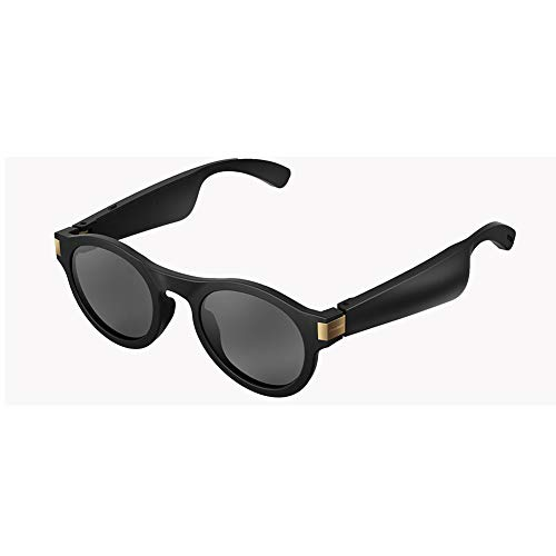 RHXX Bluetooth Smart Sonnenbrille Mit Anrufbeantworter, Um Musik Zu Hören Richtungsübertragung Wechselobjektiv Unisex-Design