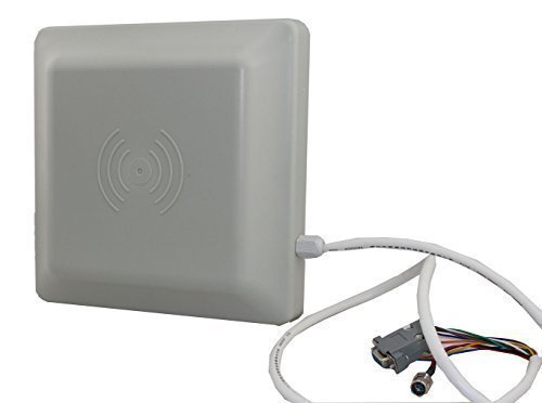 Chafon CF-RU5106 6M Long Range Uhf Reader,865~868mhz Frequency Band Support ISO18000-6C(EPC C1G2) Protocol tag,RS232/RS485/26/34 Wiegand Output UHF Integrated Medium Range Reader for Parking Applicati