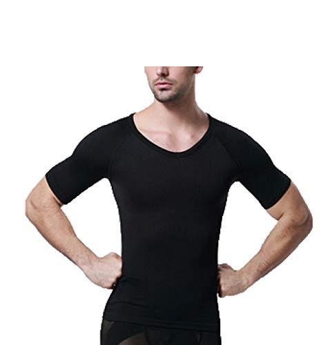 Macht Einen Kostüm Fat Suit - Männer Nahtlose Abnehmen Body Shaper Weste Bauch Kontrolle T Shirt Compression Tank Shaperwear
