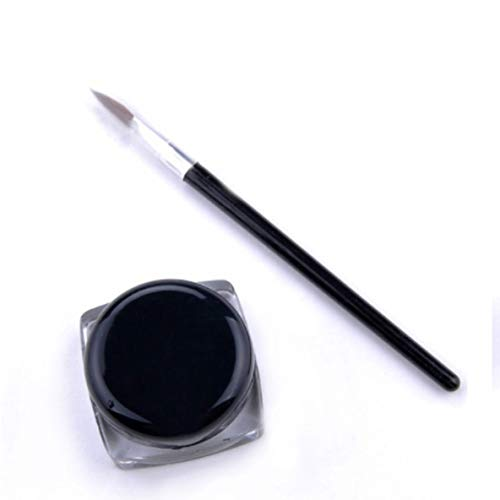 Comilante Wasserdichtes Black Eye Liner Gel langlebiges Make-up Kosmetik Gel Eyeliner Gel mit...