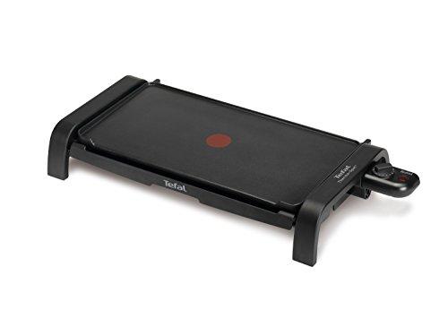 Tefal CB540812 - Plancha de cocina (desmontable, 2000 W), color negro