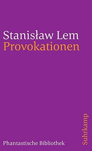 Provokationen: Aus dem Polnischen von Friedrich Griese, Jens Reuter und Edda Werfel (suhrkamp taschenbuch)