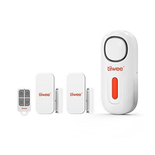tiiwee Home Alarm Starter Kit - Alarme avec 2 Fenêtre et...
