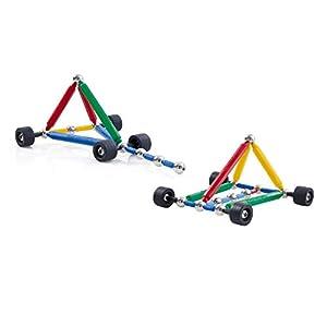 SUPERMAG-Juego de construcción Maxi-Wheel, 950109, 44Piezas