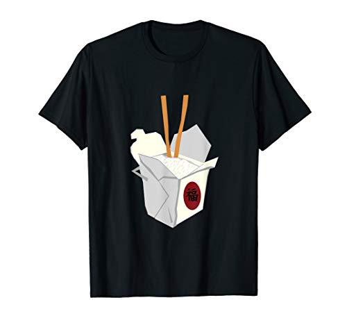 Kostüm Chinesisches Essen - Paar Kostüme Halloween Chinesisches Essen T-Shirt
