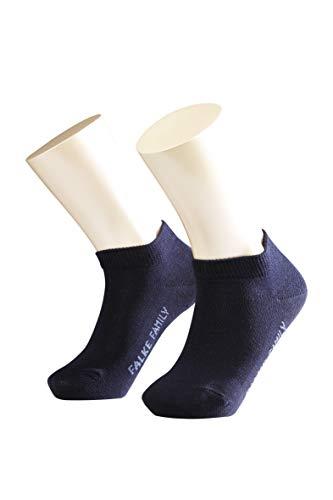 FALKE Unisex - Kinder Sneaker Socken 10631 Family Short SO, Gr. 39/ 42, blau (darkmarine 6170)