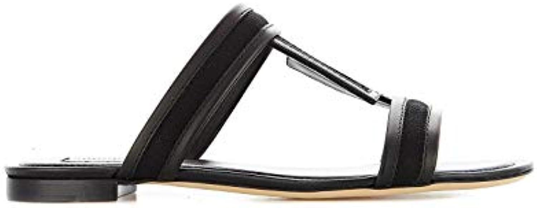 Donna   Uomo Tod's Sandali Donna Donna Donna XXW37B0AT80KQ5B999 Pelle Nero Il Coloreeee è molto accattivante Funzione speciale La moda principale | Non così costoso  | Scolaro/Signora Scarpa  4273a1