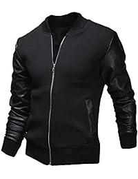 Amazon.it  giacca uomo elegante - Giacche e cappotti   Uomo ... 161f96e5459