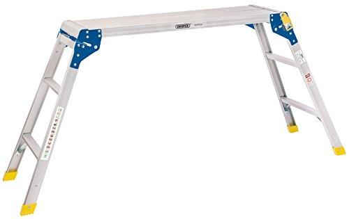 DRAPER 839983Schritt Aluminium Arbeiten Plattform, silber