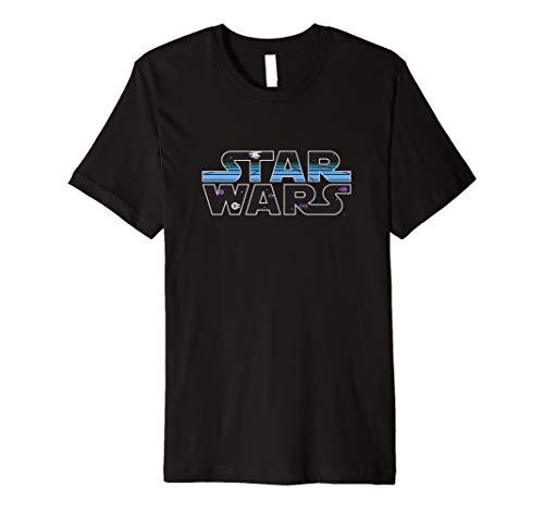 Star Wars Classic Logo Retro Video Game T-Shirt (Wars-t-shirts Classic Star)