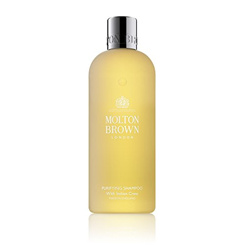 Molton Brown Men's Indian Cress Purifying Shampoo For All Hair Types 300Ml