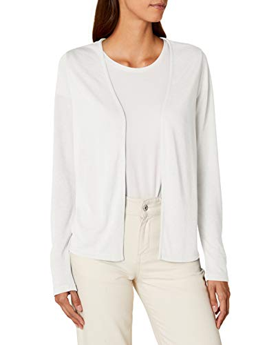 Street One Damen Strickjacke 311903 Nette, Beige (Off White 10108), 42