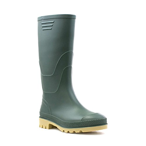 Zone - Classic Green Welly - Kids size 11 to Adult size 6