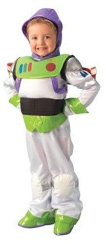 Rubies 3883688–Enfants Costume Buzz l'éclair Platinum (2pièces avec Un Chapeau, Ailes, Gants)