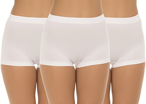 91951e7b65bbb5 UnsichtBra Women s Comfort Panties Set of 3