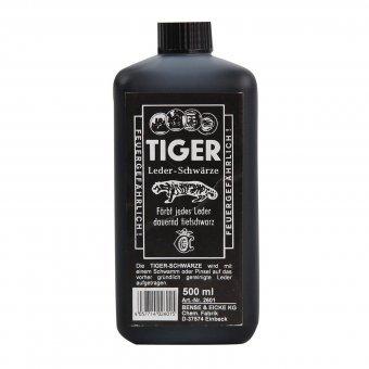 B & E TIGER - Leder-Schwärze, 500ml
